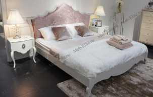 Хемис кровать 180х200 белая глянец