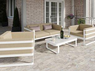 Примавера мягкая мебель: диван 2 местный + кресло + кофейный столик