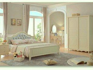 Эмилия спальня детская комплект: кровать 120х200+тумба прикроватная+комод+шкаф 2 дверный