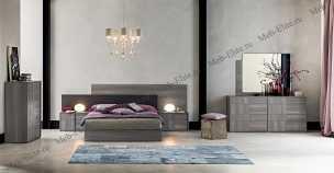 Futura Grey спальня глянец