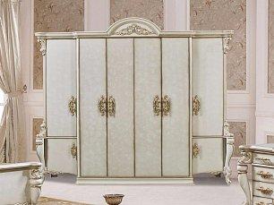 Опера Крема шкаф 6 дверный глянец