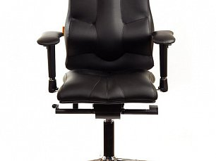 ELEGANCE кресло рабочее черное