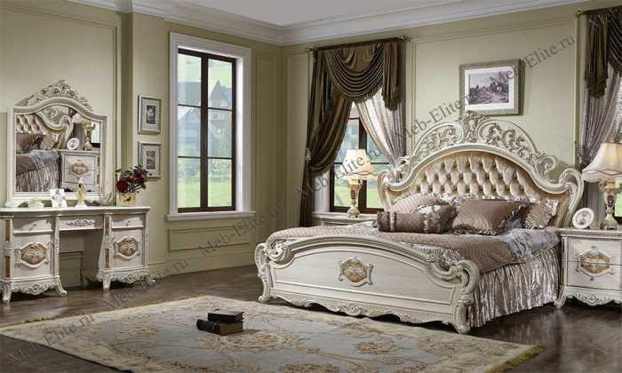 Портофино спальня белая