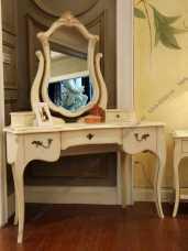 Адалия (Adalia) стол туалетный с зеркалом 852d