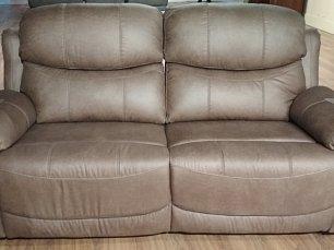 Мик диван реклайнер 2 местный MK-4707-BRF