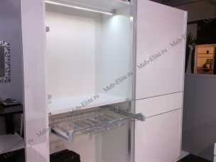 Каприз шкаф 5 дверный c зеркалом белая