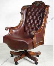 Луи 15 (Louis XV) кресло рабочее 521 орех