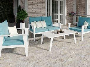 Рипосо мягкая мебель: диван 2 местный + кресло + кофейный столик