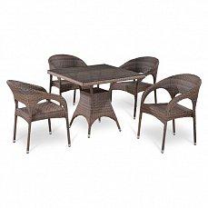 Комплект мебели 4+1 Т220BG/ Y90СG-W1289 иск. ротанг