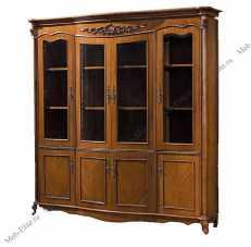 Карпентер 230-1 шкаф книжный 4 двери