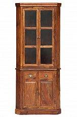 Луберон витрина 2 дверная угловая арт. 17