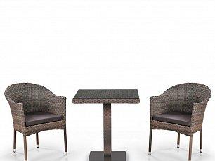 Комплект мебели 2+1 T601G/Y350G-W1289 Pale 2Pcs иск. ротанг