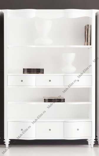 Римини книжный шкаф (стеллаж) FB.BC.RIM.23 глянец