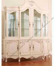 Луи 15 (Louis XV) витрина 4 дверная 751B-4 вайт