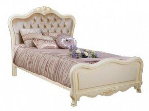 Белый Цветок кровать 120х200 8801А/8812 велюр