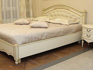 Палермо кровать 160х200 58 шампань