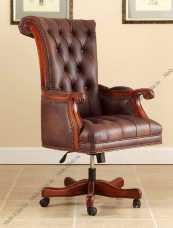 Луи 15 (Louis XV) кресло рабочее rc-521 орех
