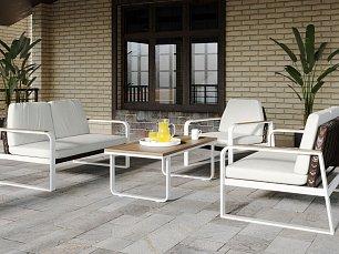 Белла мягкая мебель: диван 2 местный + кресло + кофейный столик