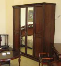 Вивальди шкаф 4 дверный с зеркалами