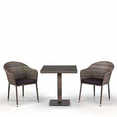 Комплект мебели 2+1 T601G/Y375G-W1289 Pale 2Pcs иск. ротанг