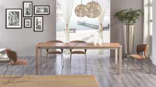 Мик стол обеденный 140/185х85 MK-5905-WD