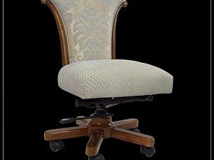 Карпентер 230-1 кресло без подлокотника (ткань LS418-1/LS419-1 ) орех