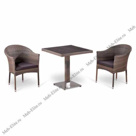 Комплект мебели 2+1 Т502DG/ Y350G-W1289 иск. ротанг