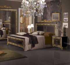 Катя кровать 160х200 черный