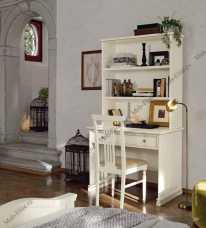 Аврора надставка к письменному столу (белая)
