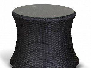 Туллон столик кофейный круглый иск. ротанг