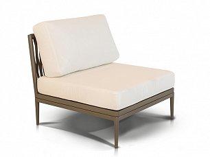 Касабланка прямой модуль дивана иск. ротанг