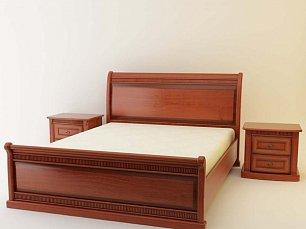 Милан 60 кровать 160х200 орех
