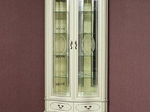 Палермо витрина угловая 6 шампань