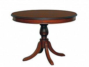 Стелла стол обеденный раскладной круглый 89/125х89 (Охта)