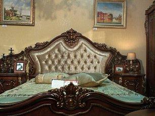 Тиффани/Джоконда спальня комплект: кровать 180х200 + 2 тумбы прикроватные + туалетный стол + 5 дверный шкаф (без пуфа)