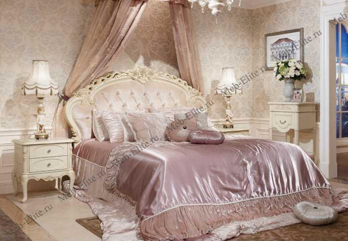 Белый Цветок спальня