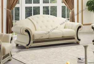 Версаче 3 местный диван-кровать белый