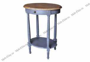 Белая роза стол кофейный овальный H835 H03+H05