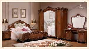 Элиза (SL) спальня орех
