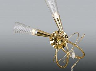 AEREO Бра Арт.711622 (SB1105/2L K) 2х40W G9 GOLD