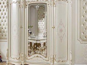 Венеция К шкаф 4 дверный с зеркалом
