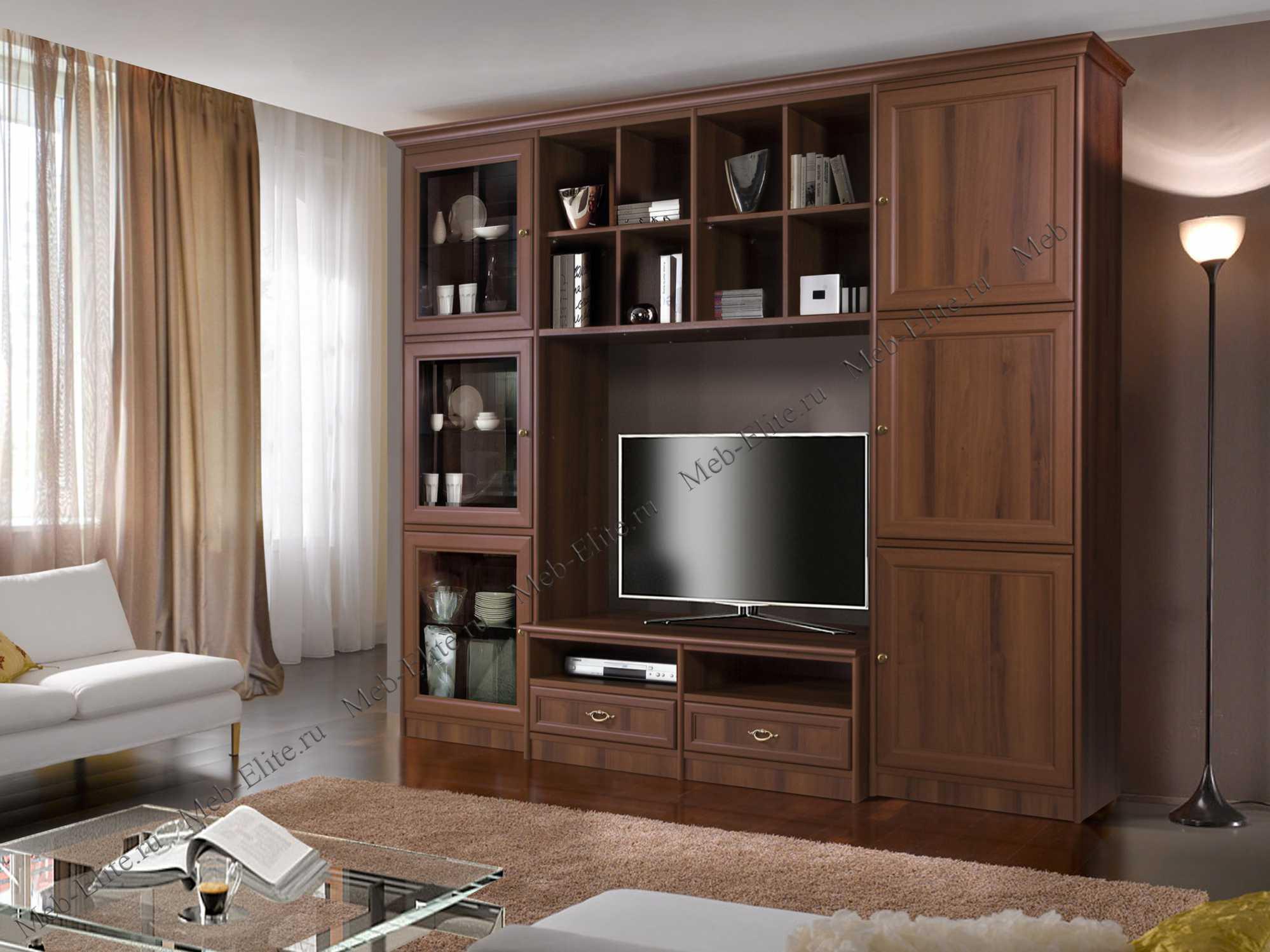 венеция модульная система для гостиной комп 402 ноче купить со