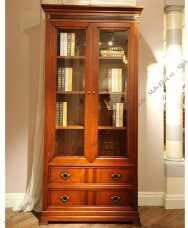 Кембридж шкаф книжный 2 дверный