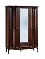 Версаль шкаф 3 дверный с зеркалом (венге)