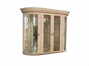 Милан витрина 4-дверная 1 позитано