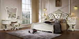 Мирелла спальня комплект: кровать 180х200 + 2 тумбы прикроватные + туалетный стол с зеркалом + шкаф 6 дверный