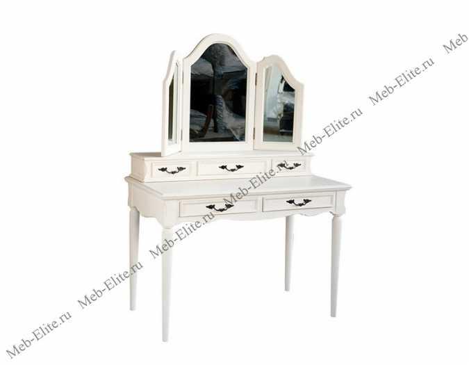 Туалетный столик с двумя ящиками Fleur D'artichaut (Флер Д'артишо) без зеркала