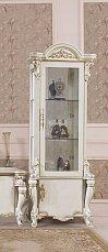 Опера Крема витрина 1 дверная глянец