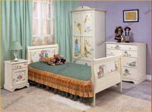 Алиса шкаф 2 дверный детская