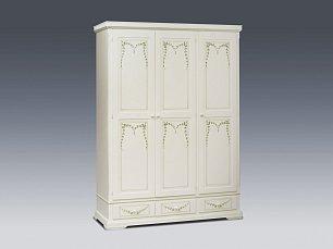 Оливка (Примавера) шкаф 3 дверный